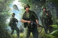 vietnam war military art - Google Search