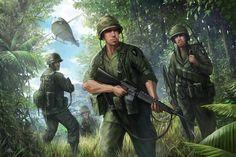 vietnam war military art - Google Search
