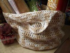 Cotton Market Tote Free Crochet Pattern