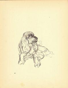 COCKER SPANIEL Dog Print Puppy Print Wall Decor by HucksterHaven