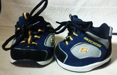 Build-a-Bear Workshop Blue/Gray/Gold Sneakers Athletic Shoes BABW Skechers Bear #BuildaBear #AllOccasion