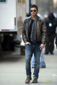 Zac Efron, I like your style...
