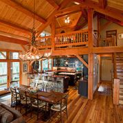 Lake House Chalet Design Ideas, Pictures, Remodel, and Decor - page 39