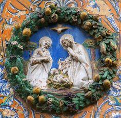 Niculoso Pisano: Natividad. Monasterio de Santa Paula, Sevilla (1504)