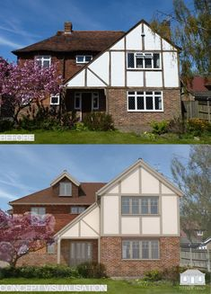 House Colors Exterior Before And After Home 33 Ideas