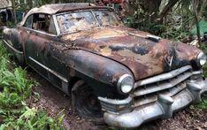 Jungle Find! 1949 Cadillac Series 62 Convertible #BarnFinds #Cadillac, #Convertible - https://barnfinds.com/jungle-find-1949-cadillac-series-62-convertible/