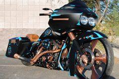 Custom Harley-Davidson Road Glide by John Shope's Dirty Bird Concepts, the Spit Shine! Harley Panhead, Bagger Motorcycle, Harley Davidson Knucklehead, Harley Bikes, Harley Davidson Street Glide, Cruiser Motorcycle, Harley Davidson Motorcycles, Hd Motorcycles, Classic Harley Davidson