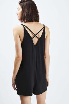 TALL Strappy Romper Playsuit
