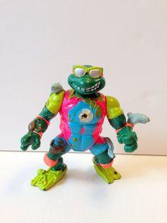 Teenage Mutant Ninja Turtles Figurine TMNT Mike by GodsofVintage