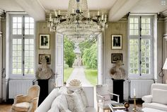 manoir de berthouville - Normandy home to Boston designer Charles Spada - Sharon Santoni