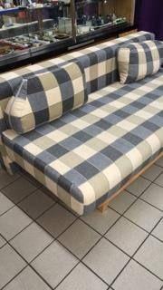 Sofa Schlafcouch Holz Und Stoff Gebraucht Top Zustand 120 Sofa Schlafcouch Holz Und Stoff Gebraucht Top Zustand Big Sofas Couch Furniture