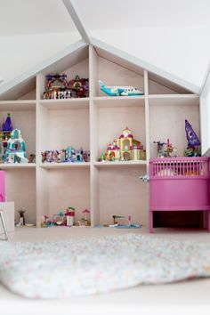 11 Girl Nursery, Girl Room, Pastel Nursery, Toddler Rooms, Toddler Bed, Baby Kids, Ikea, Furniture, Home Decor