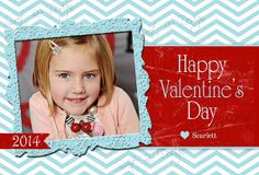 Valentines Day Photo Card  Custom by SweetBeeDesignShoppe on Etsy, $12.00