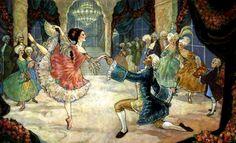Guay, Rebecca (b,1970)- Cinderella at Ball