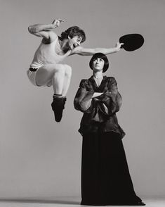 "Richard Avedon, ""Mikhail Baryshnikov and Twyla Tharp, dancers"" (New York, December, 26, 1975)"