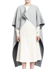 Arnet Melange Cutaway Coat by THE ROW at Neiman Marcus.