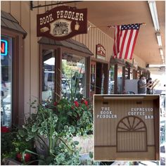 Great town to stop in, loved the combination book store and coffee shop.  This was the BEST coffee of the whole Alaska/Yellowstone trip in June 2016.  The special was Huckleberry White Mocha and it was fantastic!  Photos: Gaylis Ghaderi