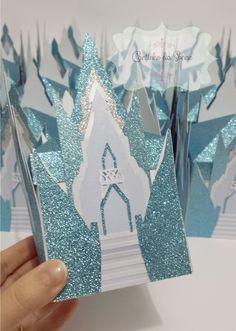Cantinho da Sonne - cantinhodasonne@hotmail.com: Caixinha Castelo Princesa Elsa