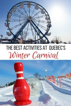 Everything you need to know about Quebec City's Winter Carnival, including the best events, activities, treats…and where to find that jolly Bonhomme!