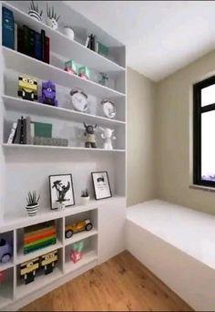 Room Design Bedroom, Home Room Design, Room Ideas Bedroom, Storage Ideas For Bedroom, Bedroom Decor, Master Bedroom, Interior Design Videos, Small House Interior Design, Small Room Design