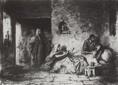 The Ressurection of Jair's daughter - Vasily Polenov