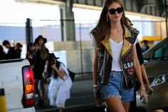 chiara ferragni nyfw  #streetstyle #fashion #trends2016 #fashionstyle   http://www.bykoket.com/inspirations/category/trends/fashion