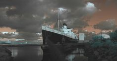 Check out these spooky tales from California's haunted ships!  Happy Halloween!