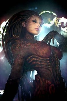 Heart of the Swarm by SpcatsTasha.deviantart.com on @deviantART - Absolutely amazing Starcraft cosplay. The rest of the gallery is worth looking at, too.