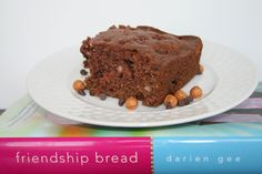 Amish Friendship Chocolate Caramel brownies (also can add heath bar pieces!)