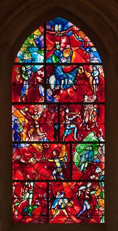 Marc Chagall, Chichester Cathedral. #chagall, #art, #stainedglass
