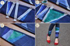 EmerJa: DIY: Cool jeans