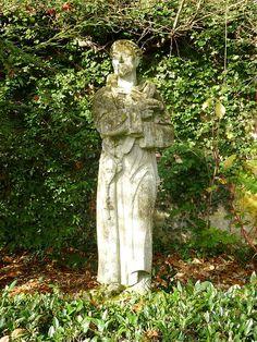 Alverna (Wijchen) Fransciscanenklooster, beeld St.Franciscus
