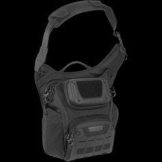 Maxpedition AGR Wolfspur Shoulder Bag in Black