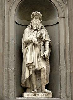 Leonardo Da Vinci, Florencia