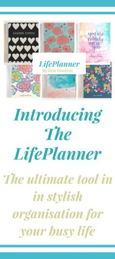 Build your planner just how you want it. Choose layouts, colour scheme, cover and coil. Set goals for the year, make note of monthly events and organise your weekly schedule. There are so many ways to plan your days. #planner #goals #productivity affiliate pin