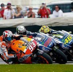 Marquez, Lorenzo, and Rossi