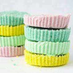 Bombes de bain colorées