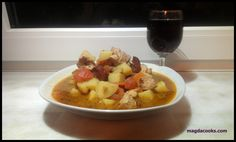 One pot dinner with chicken and chorizo