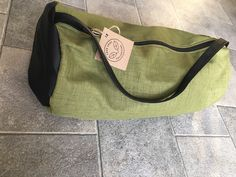 This duffle bag is perfect for a day bag, carry on bag or beach bag! It has a durable strap and zipper. Available in black and brown vinyl. Day Bag, Carry On Bag, Handmade Bags, Black And Brown, Tote Bag, Etsy, Collection, Color, Fashion
