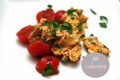 Lose Day Tuesday (V)meg-made: scrambled egg with grilled tomatoes 88 calories. 5:2 Fast Diet recipes 16 8 Diet, Veggie Recipes Healthy, Veggie Meals, Healthy Meals, Healthy Food, Fast Metabolism Diet, Metabolic Diet, Grilled Tomatoes, Fast Food Diet