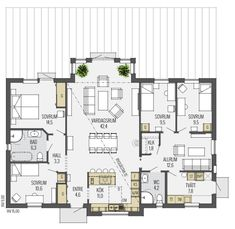 Compact House, House Drawing, Future House, Planer, Home Office, Beach House, House Plans, Sweet Home, House Ideas