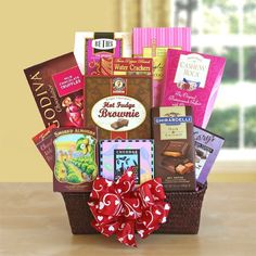 Buy New: $89.95 - Wild About You Gourmet Valentines Gift Basket