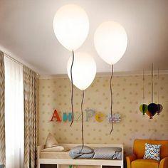White Balloon Ceiling Light