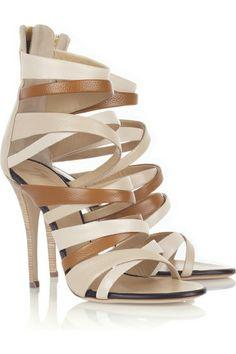 da031912c Giuseppe Zanotti Multi-strap leather sandals Giuseppe Zanotti shoes have an  open toe