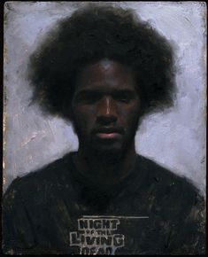 Sean Cheetham's portrait of Khari. Sean also plays a mean guitar!