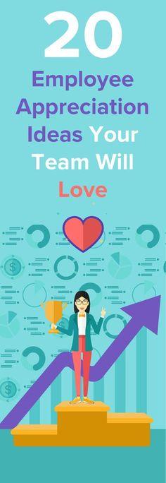 20 Employee Appreciation Ideas Your Team Will Love