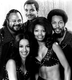 The 5th Dimension, with the amazing Marilyn McCoo (bottom left). Love her voice.