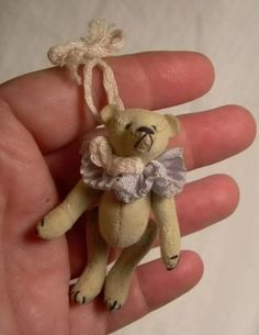 MINIATURE tiny artist TEDDY 2.25\