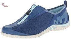 Merrell Mesdames Enlighten Glitz Breeze Urban Chaussures j21752Bleu, blue, 38 - Chaussures merrell (*Partner-Link)