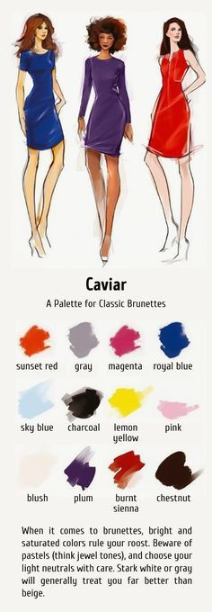 12ideal color combinations for your hair and clothes
